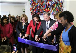 Center for International Programs Ribbon Cutting